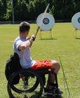 wheelchair archery image